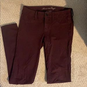 American Eagle super stretch pants.